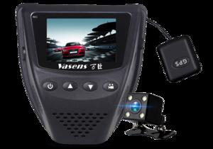 902B隐藏式双镜头GPS行车记录器